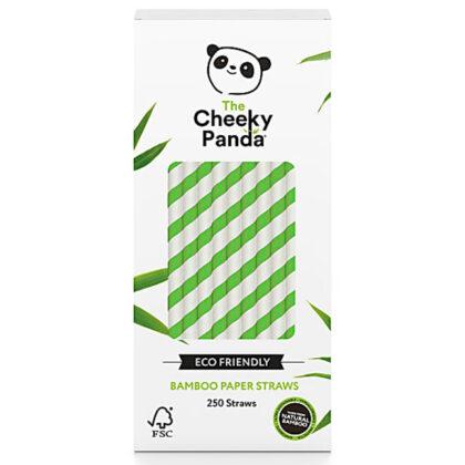 Cheeky Panda Bamboo Paper Green Straws