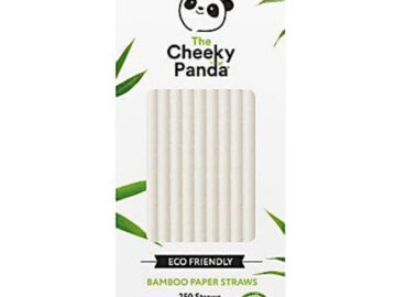 Cheeky Panda Bamboo Paper White Straws