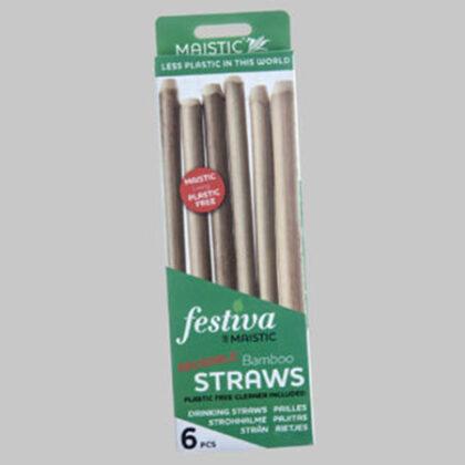 Maistic Bamboo Straws