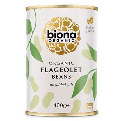 Biona Flageolet Beans Tinned Organic