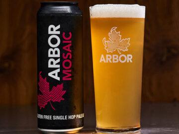 Arbor Mosaic Single Hop Pale Ale Gluten Free