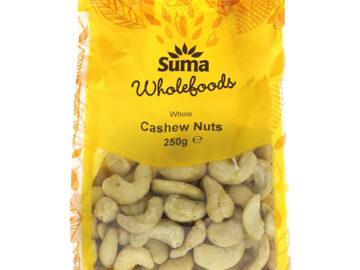 Suma Whole Cashew Nuts 250g