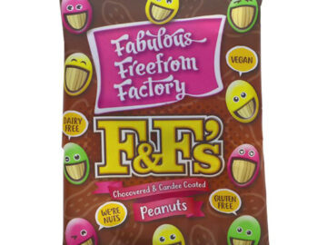 Fabulous Freedom Factory F&F's Chocovered & Candee Coated Peanuts