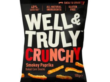 Well & Truly Smokey Paprika Crunchies
