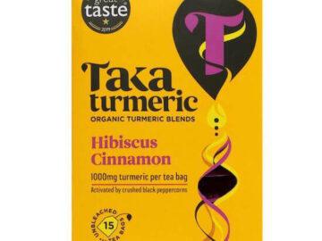 Taka Turmeric Hibiscus Cinnamon Tea Organic