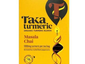 Taka Turmeric Masala Chai Tea Organic