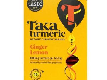 Taka Turmeric Ginger Lemon Tea
