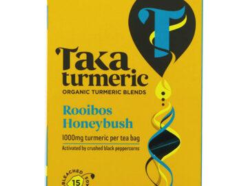 Taka Turmeric Rooibos Honeybush Organic