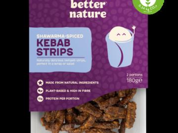 Better Nature Shawarma Spiced Kebab Strips