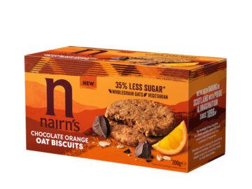 Nairn's Chocolate Orange Oat Biscuits