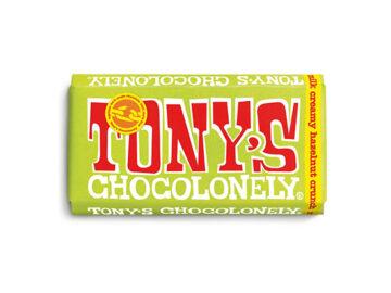 Tony's Chocolonely Creamy Hazelnut Crunch