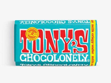 Tony's Chocolonely Milk Crispy Wafer