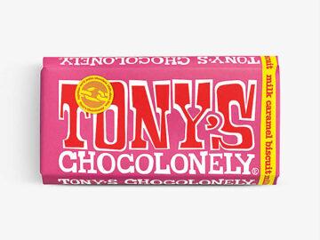 Tony's Chocolonely Milk Caramel Biscuit