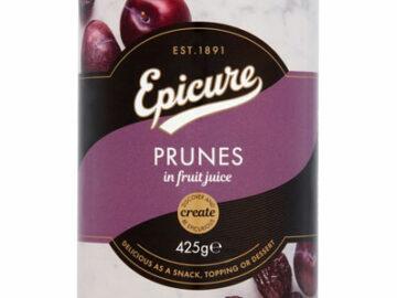 Epicure Prunes In Fruit Juice