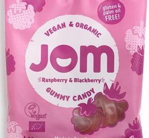 Jom Raspberry & Blackberry Vegan Gummy Candy Organic