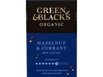 G&B Dark Hazelnut Currant Chocolate Organic