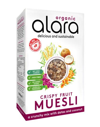 Alara Crispy Fruit Muesli Organic