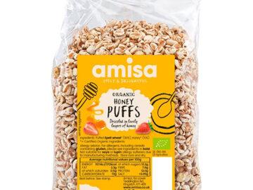 Amisa Honey Puffs Organic
