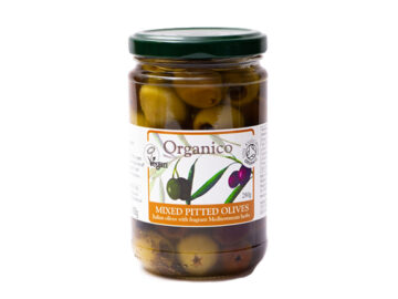 Organico Mixed Pitted Olives Organic