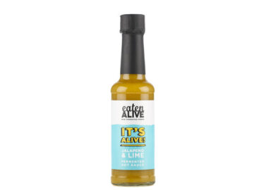 Eaten Alive Jalapeno & Lime Fermented Hot Sauce