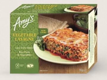 Amy's Vegetable Lasagne Organic