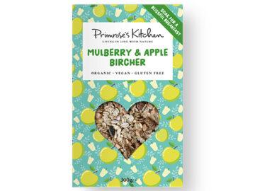 Primrose's Kitchen Mulberry & Apple Bircher Organic