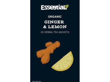 Essential Ginger & Lemon Tea Organic