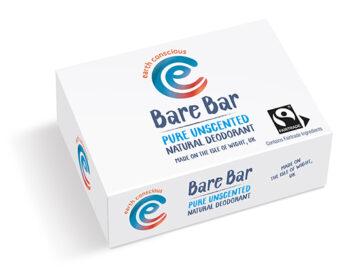 Earth Consciuos Bare Bar Unscented Natural Deodorant