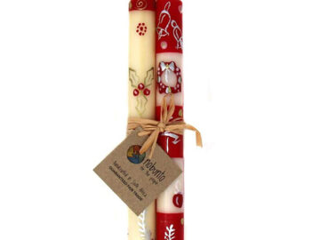 Nobunto Christmas Candles Twin Pack