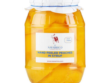 El Navarrico Hand Peeled Peaches In Syrup
