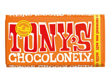 Tony's Chocolonely Sea Salt Caramel Milk Chocolate