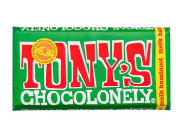 Tony's Chocolonely Milk Hazelnut Chocolate