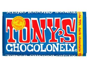 Tony's Chocolonely 70% Dark Chocolate