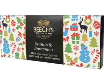 Beech's Milk Chocolate Santas and Snowmen