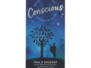 Conscious Chia & Coconut Chocolate Organic