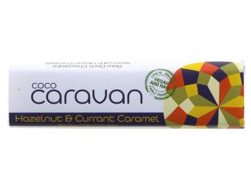 Cocoa Caravan Hazelnut & Currant Caramel Chocolate