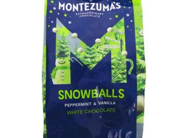 Monetzuma's Peppermint & Vanilla White Chocolate Snowballs