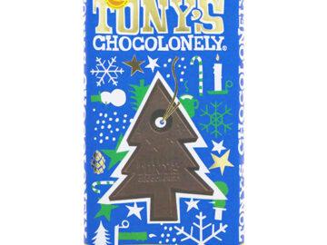 Tony's Chocolonely Candy Cane Dark Chocolate
