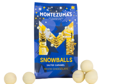Montezuma Salted Caramel Snowballs