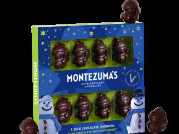 Montezuma Dark Chocolate Minted Snowmen